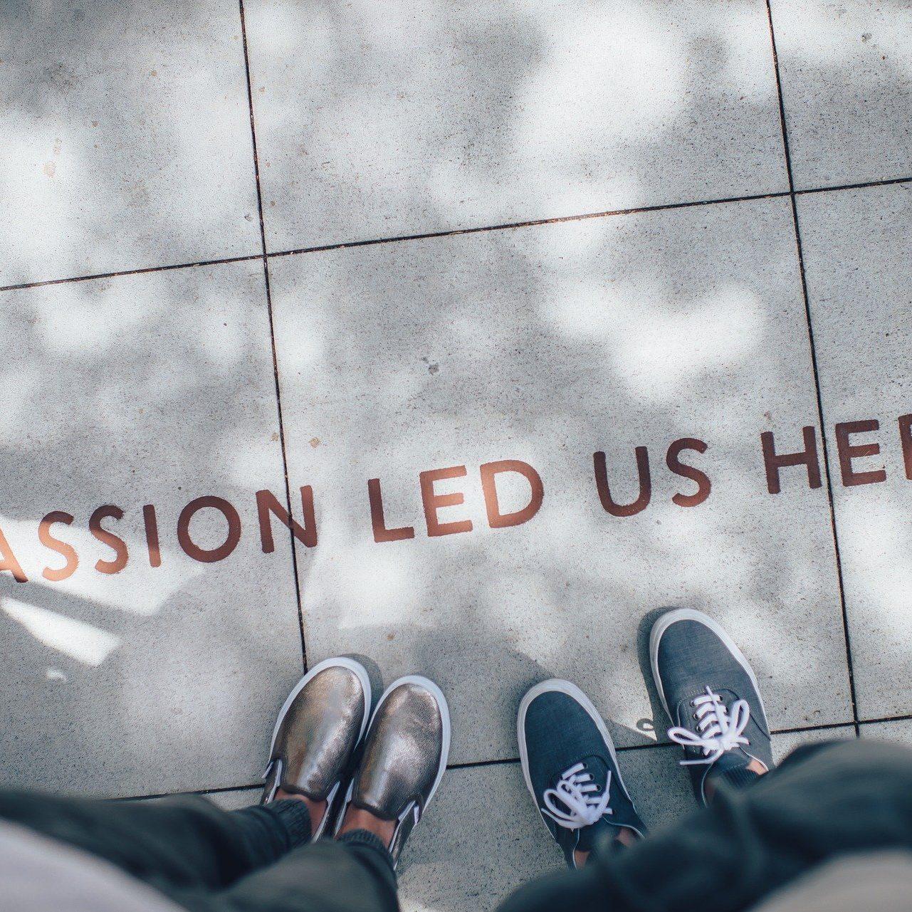 passion sets the destination
